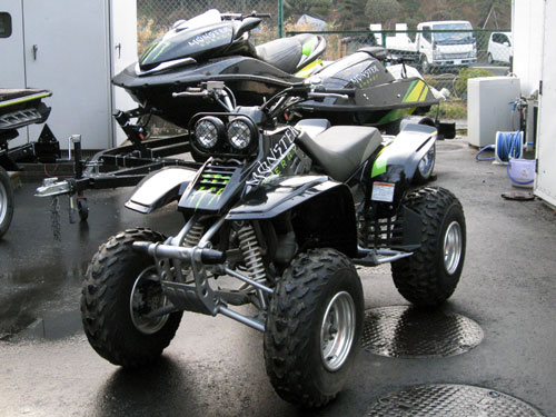中古バギー YAMAHA WARRIOR_6