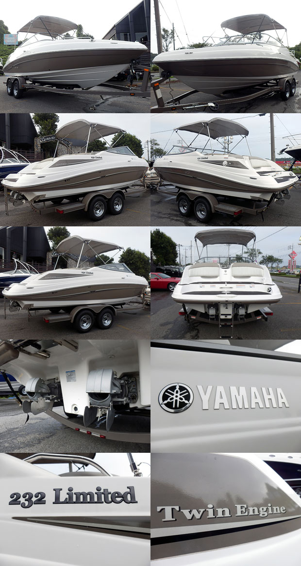 中古ボート YAMAHA 232 LIMITED_5