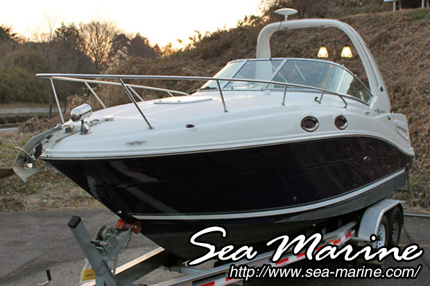中古ボート SEA RAY 260 SUNDANCER_1