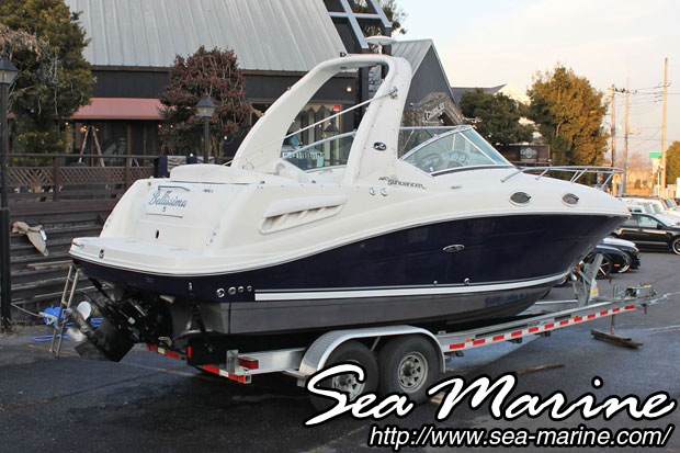 中古ボート SEA RAY 260 SUNDANCER_2