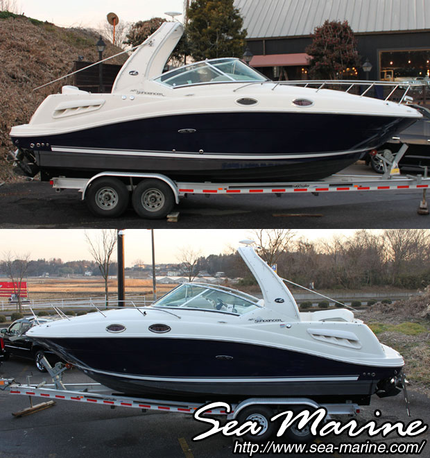 中古ボート SEA RAY 260 SUNDANCER_4