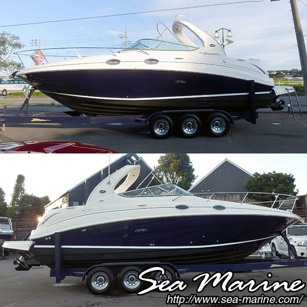 中古ボート SEA RAY 280 SUNDANCER_4